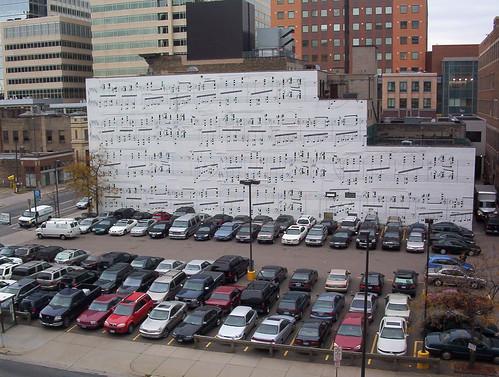 Musical Parking Lot at Schmitt Music | by sylvar