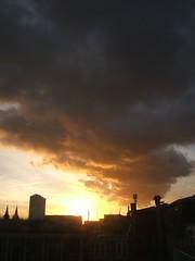 sunset at 17:35