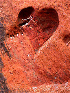 heart-shaped cave | Nature's love : A heart-shaped cave ...