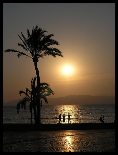 El Arenal sunset