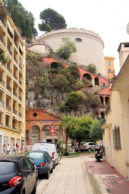 Ascenceur de Chateau Nice