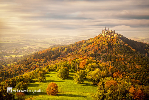 autumn castle art landscape mood fineart herbst medieval historic lastlight visionandimagination