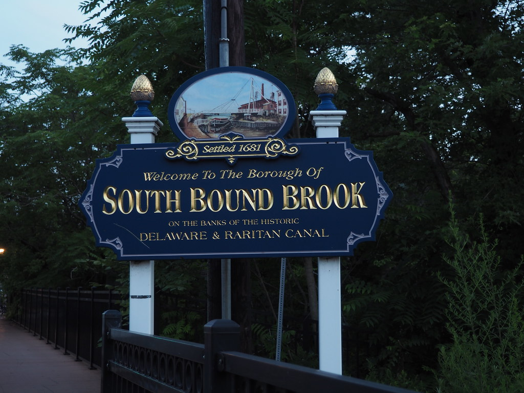 Welcome Sign for South Bound Brook