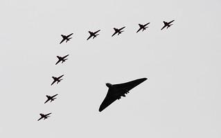 Red Arrows and Vulcan | by alexanderprins34