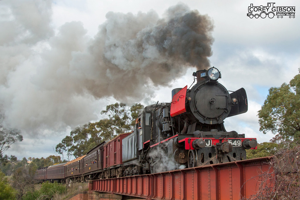 J549 - Victorian Goldfields Railway by Corey Gibson