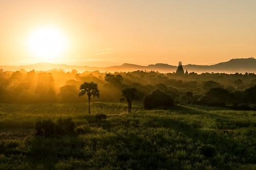 Bagan Sunset II | by essjayt