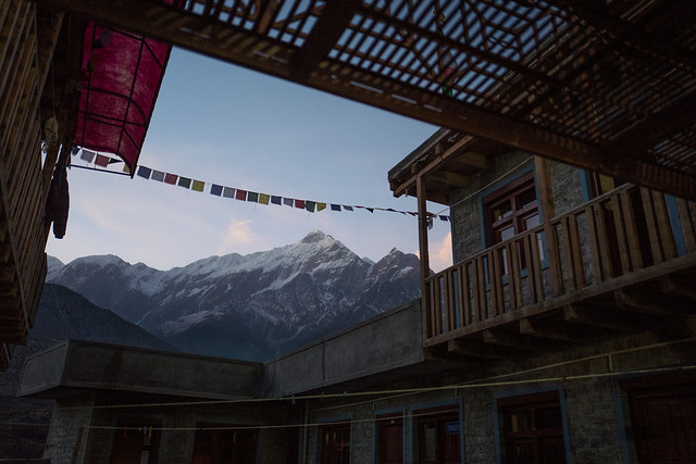 Jomsom at dawn