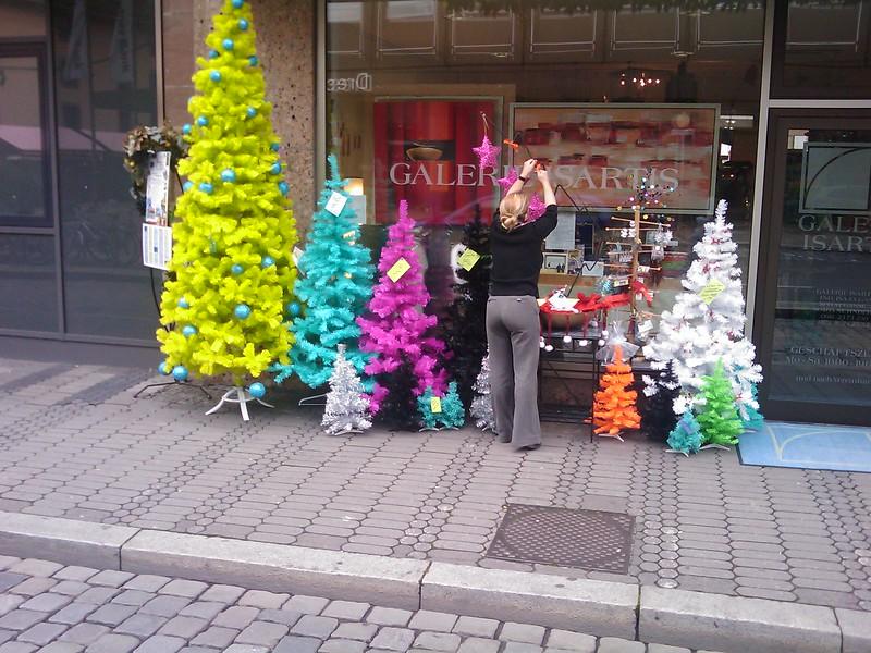 Stilvolle Weihnachtsbäume gefällig?