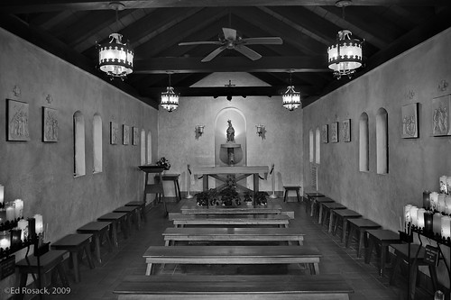 Chapel and candles | by Ed Rosack