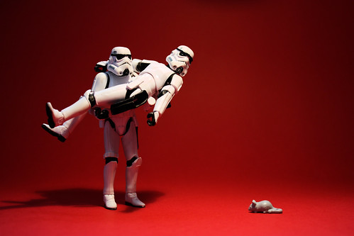 """Stormtroopers: """"Armored shock troops of the Empire"""" 