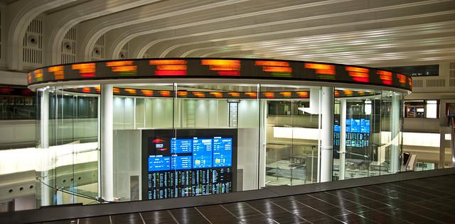 Tokyo Stock Exchange Ticker