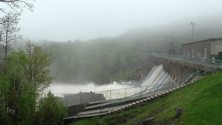 Ripogenus Dam at 9500 cfs | by Maine River Guides