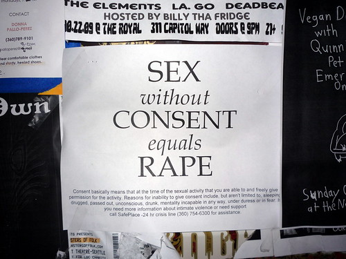 sex without consent equals rape | by dreamsjung