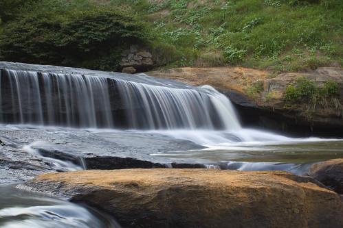longexposure sc water rock waterfall southcarolina archives cascade greenville silky fallspark reedyriver davidhopkinsphotography