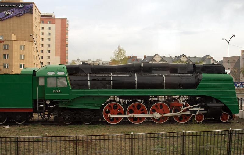 Steam Train in sidings 3