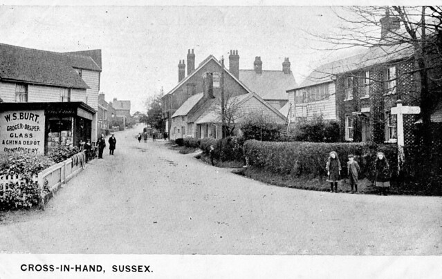 073 Postcard 73 Cross-in-Hand Sussex