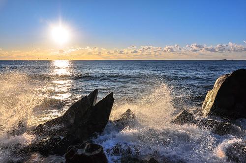 japan sunrise asia pacificocean chiba 日本 nihon choshi 千葉県 太平洋 日の出 銚子 chibaken アジア 犬吠埼 chibaprefecture inubosaki