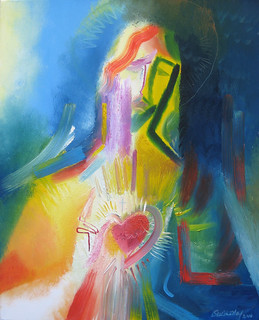 The Sacred Heart of Jesus ~ 2010 by Stephen B Whatley | by Stephen B. Whatley