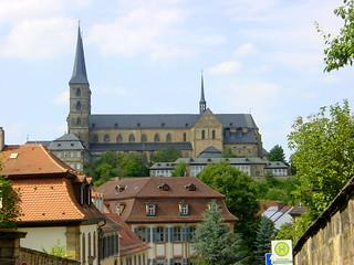 2002-07-20 Bamberg 056 Kloster Michelsberg