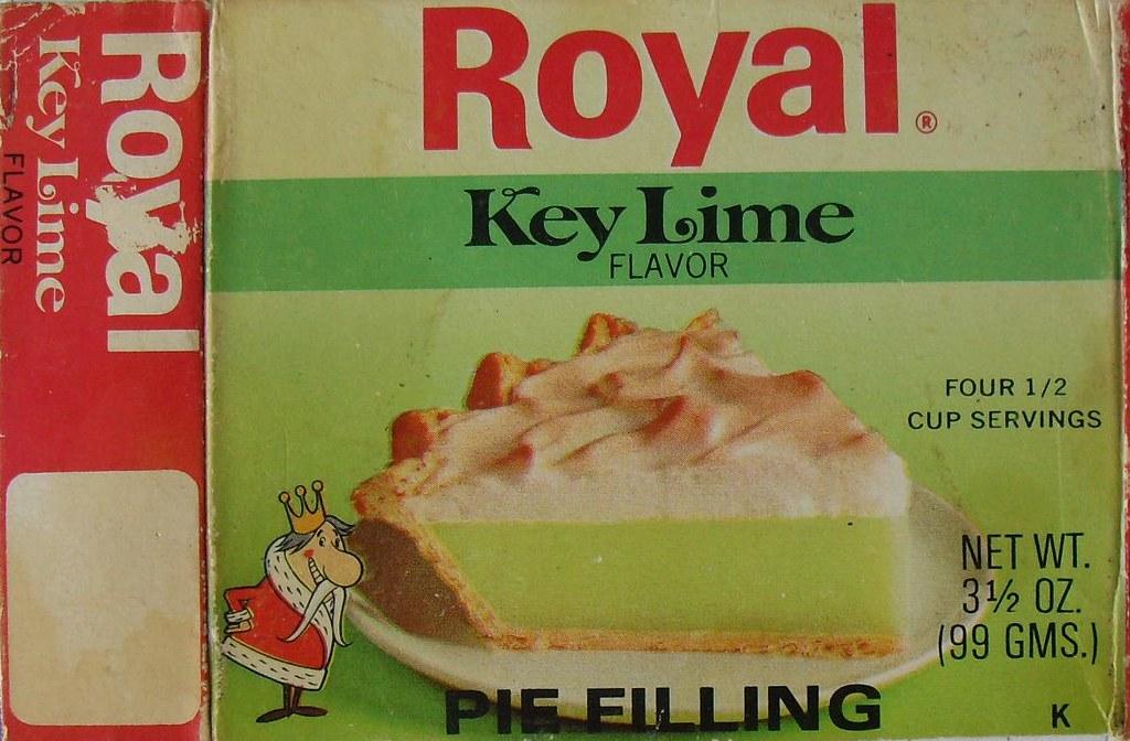 1964 Original Royal Key Lime Flavor Pie Filling.Key Lime Pie Advertisement.Florida Keys Advertisement.Vintage 1960/'s Magazine Advertisement.