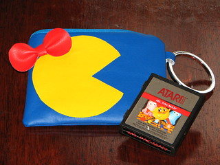 Ms. Pac Man wallet & wristlet | by Niles Z