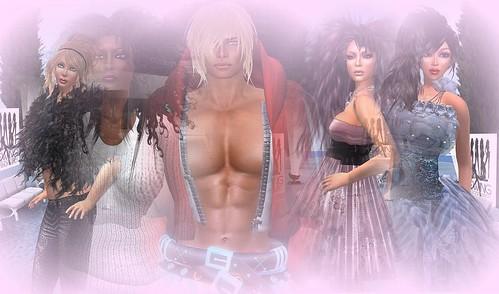Runway Diva models and Infa