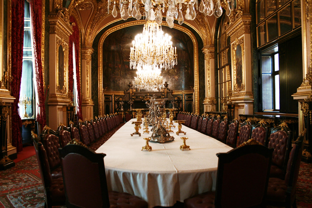 Grand Dining Room Royal Aparments Of Napoleon Iii Louvre