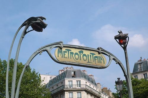 Paris metro sign | by John Pannell