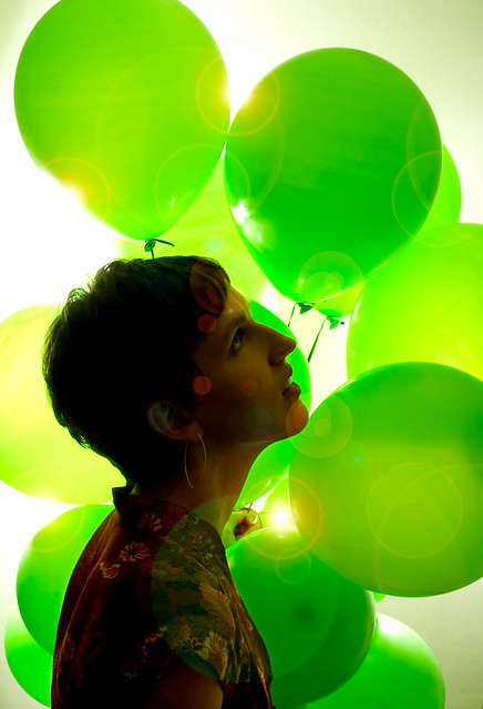 Green balloons [this needs a better title]