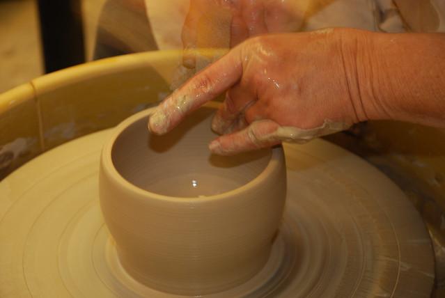 14 throwing a pot