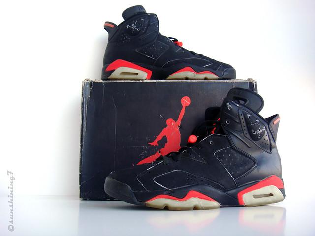 timeless design 69a00 bc8ba ... Sunshining7 - Nike Air Jordan VI - 1991 - OG Black Infrared III   by  sunshining7