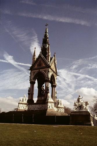 The Albert Memorial, Kensington   by GothPhil