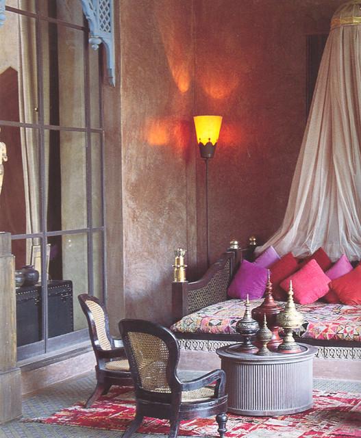 amusing moroccan style living room | Moroccan-style living room | *New Moroccan Style* (p. 142 ...