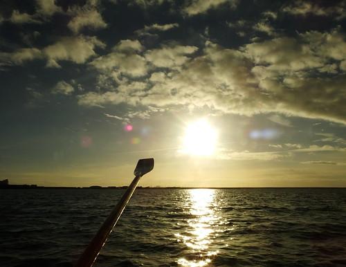 oar boat rowing harbour portlandharbour dorset sunset chesilbeach portlandmarina