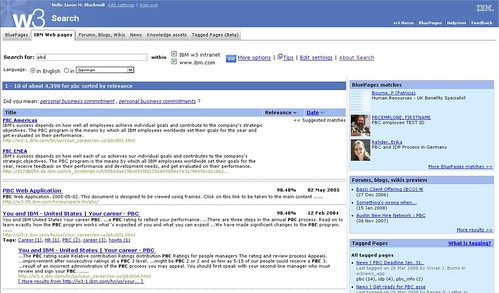 5-02. IBM's second version of enterprise social search   by Peter Morville