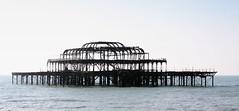 Brighton West Pier   by Hexagoneye Photography