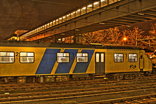 Station Maastricht at night | by Peter Köves
