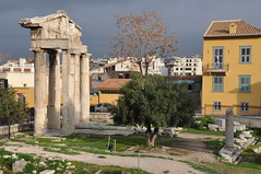 Remains of West Gate - Agora