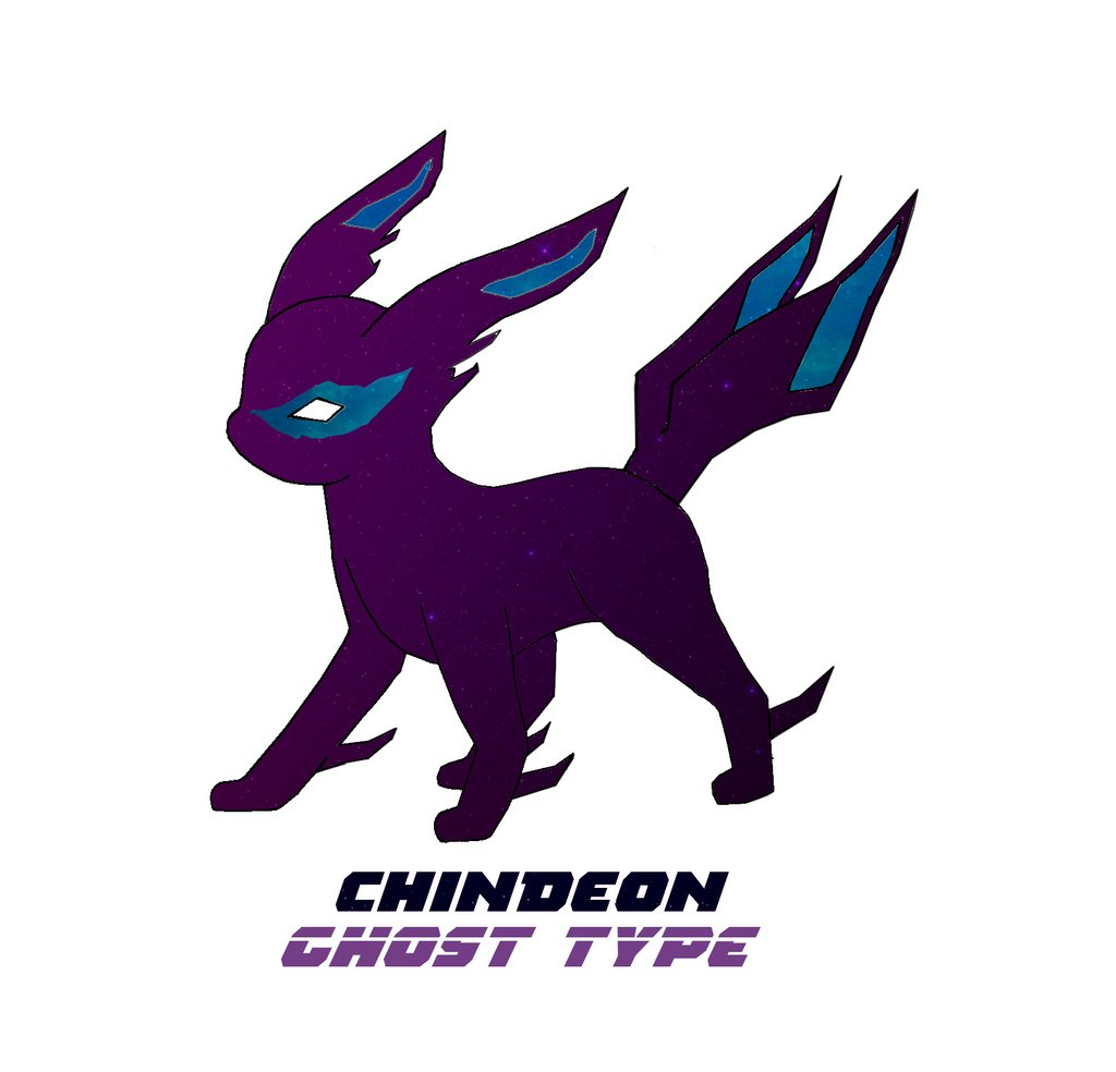My idea for a Ghost Eevee Evolution: Chindeon! pokemon-fan… | Flickr