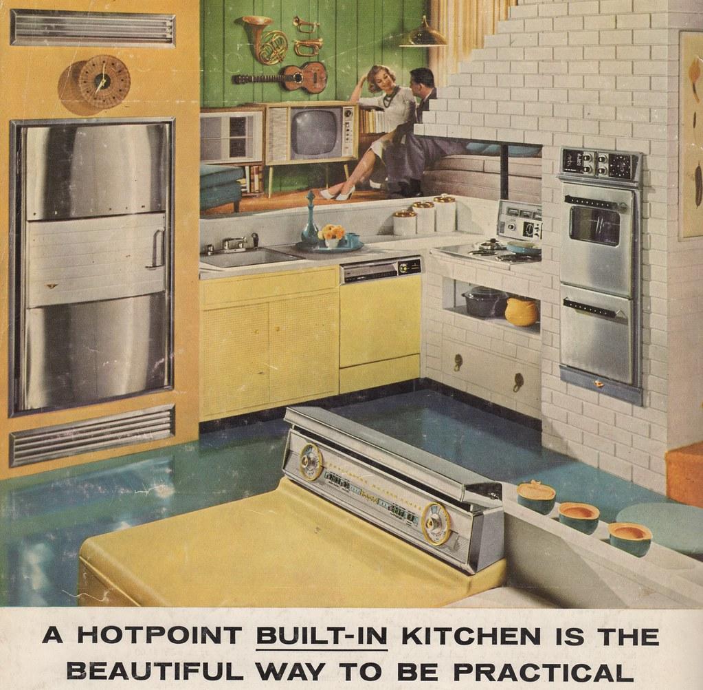 Kitchen Ideas 1959 29 33 Love The Sunken Kitchen Flickr