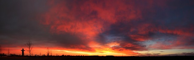 021714 - Phenomenal Nebraska Sunset