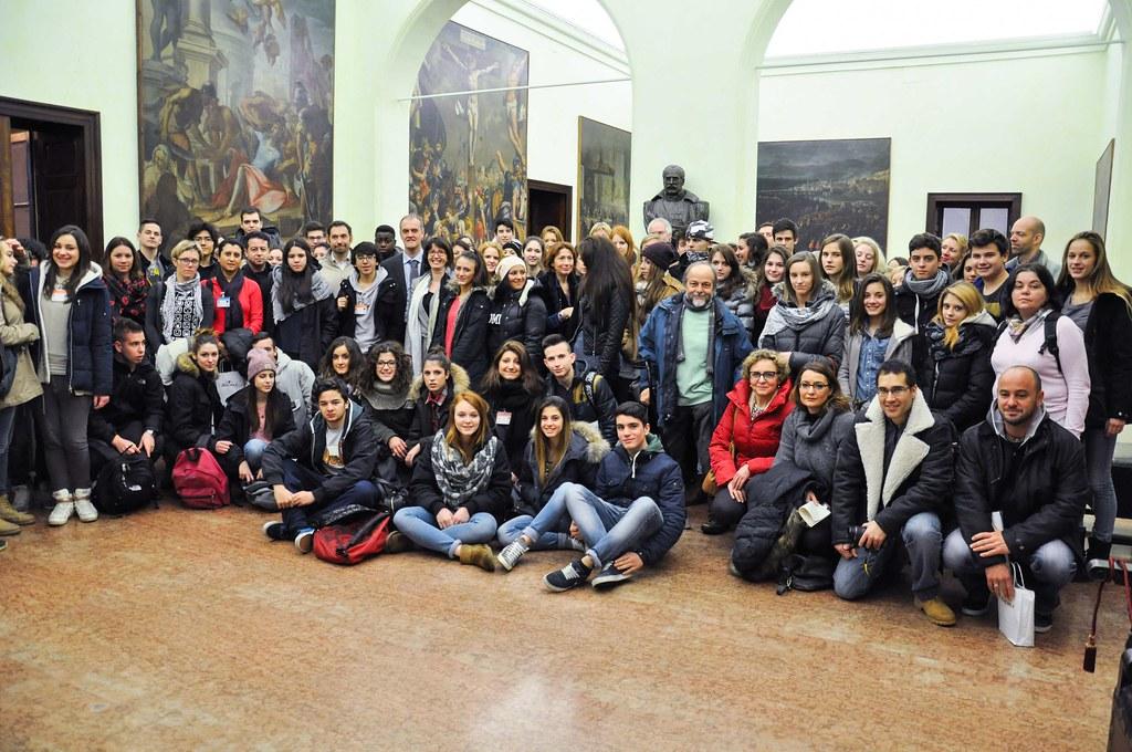 L'Istituto Bodoni incontra studenti stranieri (20/02/2014)