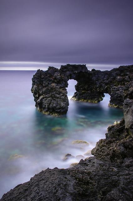 Lava arches
