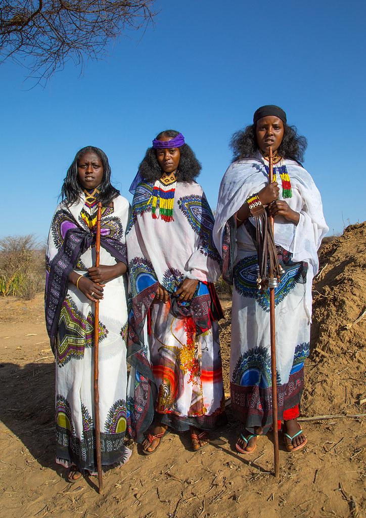 Borana tribe women during the Gada system ceremony, Oromia… | Flickr