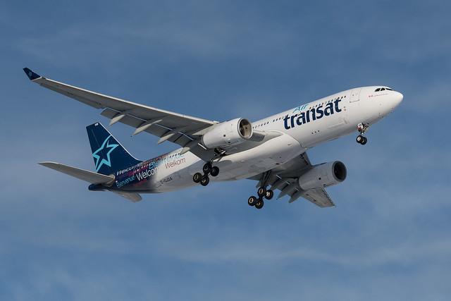 C-GJDA Airbus A330-243 c-n 248 CYUL