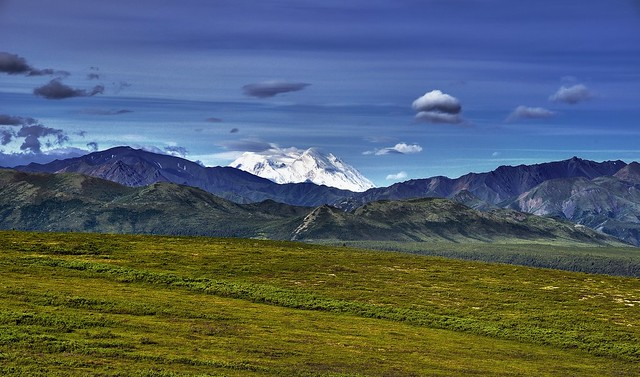 A Wide Angle View of Denali