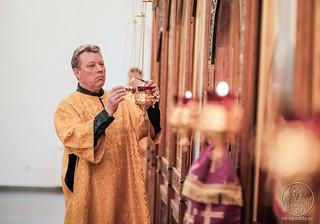 Литургия в Спасском соборе 480