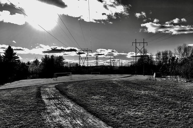 Soccer field, Kanata, Ontario