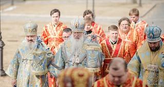 Литургия в Иверском монастыре 205