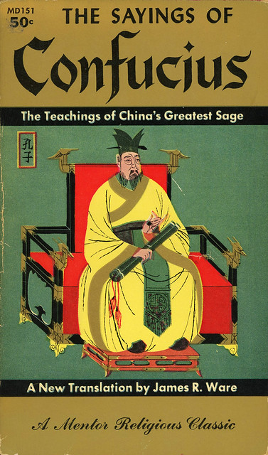 Mentor Books MD 151 - The Sayings of Confucius